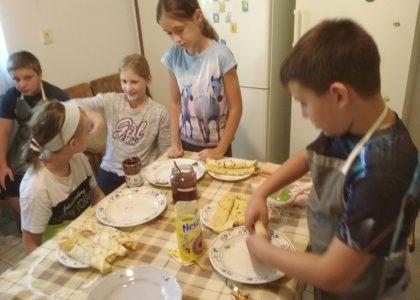 Ötödikes palacsinta-party